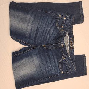 RUE21 SIZE 13/14 SHORT LOW RISE SKINNY DISTRESSED